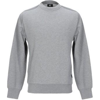 《セール開催中》PS PAUL SMITH メンズ スウェットシャツ ライトグレー S コットン 100%