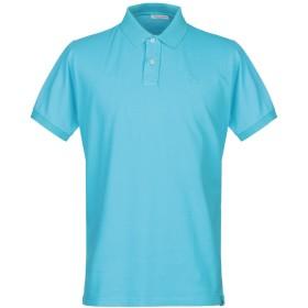 《期間限定セール開催中!》GRAN SASSO メンズ ポロシャツ アジュールブルー 56 コットン 100%