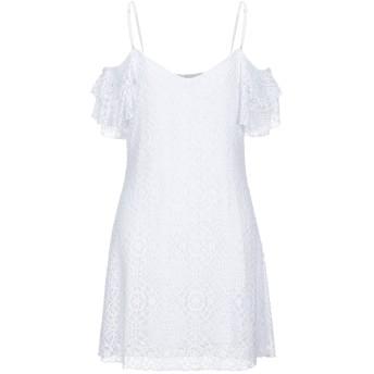 《セール開催中》PILYQ Barcelona レディース ミニワンピース&ドレス ホワイト M/L ナイロン 100%