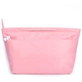 BES CHAN バッグインバッグ bag in bag インナーバッグ 防水 a4 PINK M