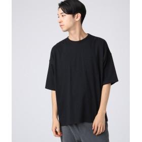 tk.TAKEO KIKUCHI(ティーケー タケオ キクチ) ◆USAコットン(綿)BIGTシャツ