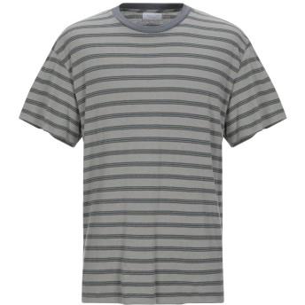 《9/20まで! 限定セール開催中》JOHN ELLIOTT メンズ T シャツ グレー 4 コットン 85% / ポリエステル 15%