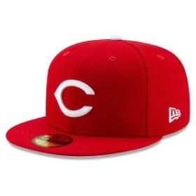 ニューエラ メンズ 帽子 アクセサリー Cincinnati Reds New Era 1956 150th Anniversary Turn Back the Clock 59FIFTY Fitted Hat Red