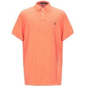 《セール開催中》POLO RALPH LAUREN メンズ ポロシャツ オレンジ S コットン 100%