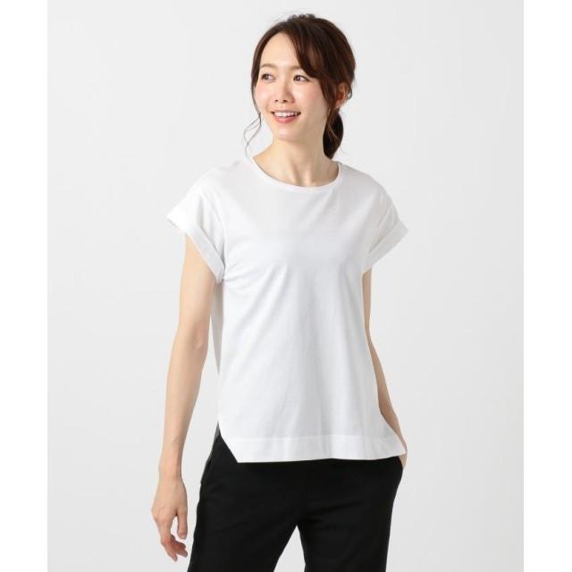 ICB Cotton Jersey カットソー レディース ホワイト系 S 【ICB】