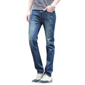 (ネルロッソ) NERLosso ジーンズ ジーパン メンズ デニム スキニー パンツ Gパン メンズジーンズ ズボン ボトムス 長ズボン ロングパンツ デニムパンツ 正規品 33サイズ ブルー1 cmg24246-33-bu1