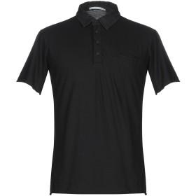 《9/20まで! 限定セール開催中》DANIELE ALESSANDRINI メンズ ポロシャツ ブラック M コットン 100%