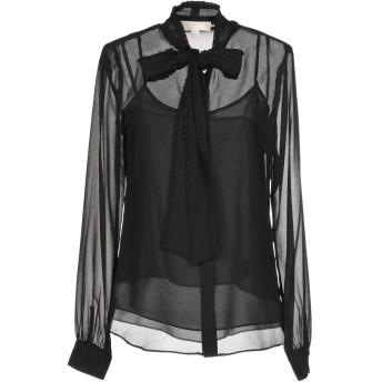 《セール開催中》MICHAEL MICHAEL KORS レディース シャツ ブラック L 100% ポリエステル