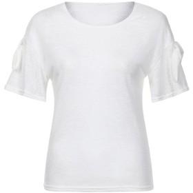 カットソー JoielmalTシャツ レディース クルーネック 夏服 ファッション 上着 良質素材 トップス 無地 ブラウス セクシー 可愛い シンプル カジュアル 旅行 通勤 日常 半袖 部屋着 インナー お出かけ きれいめ プレゼント 2019 人気