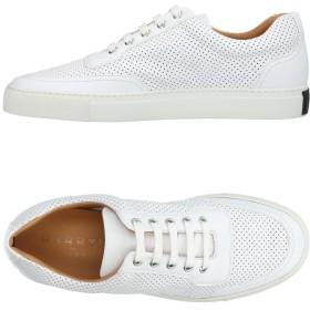 《セール開催中》HARRYS OF LONDON メンズ スニーカー&テニスシューズ(ローカット) ホワイト 40.5 革