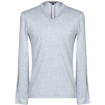 《セール開催中》JOHN VARVATOS メンズ T シャツ スカイブルー XL コットン 50% / レーヨン 50%