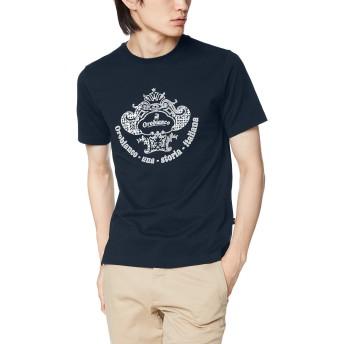 [オロビアンコ] 半袖Tシャツ コロナロゴ半袖Tシャツ 43170-321 ネイビー 日本 LL(50) (日本サイズ2L相当)
