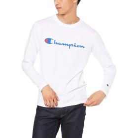 [チャンピオン] スクリプトロゴ ロングスリーブTシャツ ベーシック C3-Q401 メンズ ホワイト 日本 XL (日本サイズXL相当)