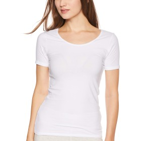 [ベルメゾン] あったか インナー ホットコット 綿混 三分袖 C16703 レディース オフホワイト L