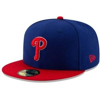ニューエラ メンズ 帽子 アクセサリー Philadelphia Phillies New Era Alternate Authentic Collection On-Field 59FIFTY Fitted Hat Roy