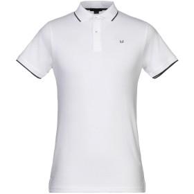 《9/20まで! 限定セール開催中》LIU JO MAN メンズ ポロシャツ ホワイト M コットン 95% / ポリウレタン 5%