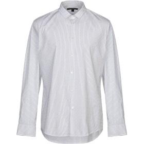 《期間限定セール開催中!》JOHN VARVATOS メンズ シャツ ホワイト S コットン 100%