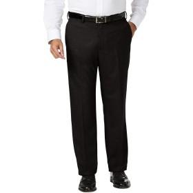 Haggar PANTS メンズ US サイズ: 46W x 30L カラー: ブラック