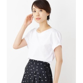 SHOO・LA・RUE/DRESKIP(シューラルー/ドレスキップ) お袖タックパールTシャツ