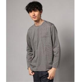[マルイ] メンズTシャツ(ボーダークルーネック ポケットロングTシャツ)/エディフィス(EDIFICE)