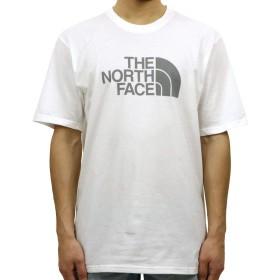 [ノースフェイス] THE NORTH FACE 正規品 メンズ クルーネック 半袖Tシャツ SHORT-SLEEVE HALF DOME TEE TNF WHITE NAUTCLBL L 並行輸入品 (コード:4128691439-4) [並行輸入品]