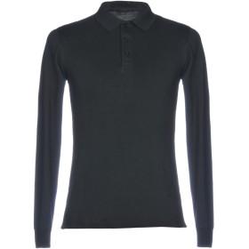 《セール開催中》LIU JO MAN メンズ ポロシャツ ブラック M コットン 80% / ポリエステル 15% / ポリウレタン 5%