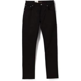 (ビームス)BEAMS/デニムパンツ nudie jeans × BEAMS/別注 Thin Finn 18FW メンズ DRY BLACK 28