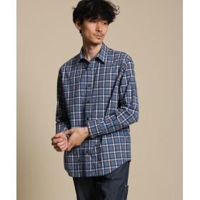 40CARATS&525(フォーティーカラッツアンドゴーニーゴ) ループヤーンチェックシャツ