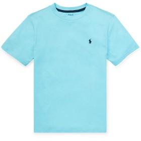 ポロラルフローレン Tシャツ 半そで ジャージー アメカジ POLO RALPH LAUREN Boys Cotton Jersey Crewneck Tee 472149 (USボーイズサイズ) (BOY'S/XL(日本サイズL相当), HAMMOND BLUE) [並行輸入品]