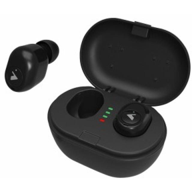 Bluetooth フルワイヤレスイヤホン 左右独立型 Qi充電対応 BTW-A8000BK