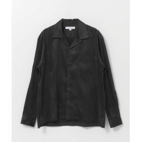 [アーバンリサーチ] ワイシャツ フェイクスエードSHIRTS メンズ BLACK M