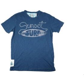 SUNSET SURF/サンセットサーフ S/S Tシャツ「サンセットサーフボード」エアフォースブルー BY ジョンソンモータース (L, エアフォースブルー)