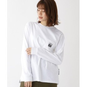 BASE STATION / ベースステーション ピーナッツ PEANUTS 別注 スヌーピー バックプリント 長袖 Tシャツ