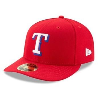 ニューエラ メンズ 帽子 アクセサリー Texas Rangers New Era Alternate Authentic Collection On-Field Low Profile 59FIFTY Fitted Hat