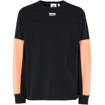 《期間限定セール開催中!》ADIDAS ORIGINALS メンズ T シャツ ブラック S コットン 100% R.Y.V. BLKD LS