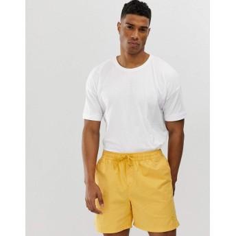 セレクテッド 半袖Tシャツ メンズ Selected Homme drop shoulder oversized t-shirt [並行輸入品]