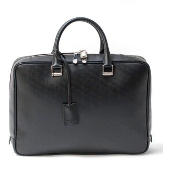 [フジタカ] レザービジネスバッグ A4 オーブ No.634502 クロ