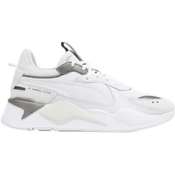 《期間限定 セール開催中》PUMA レディース スニーカー&テニスシューズ(ローカット) ホワイト 6.5 紡績繊維 RS-X TROPHY