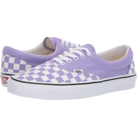 [VANS(バンズ)] メンズスニーカー・靴 Era (Checkerboard) Violet Tulip/True White Men's 12, Women's 13.5 (30cm(レディース30.5cm)) Medium [並行輸入品]