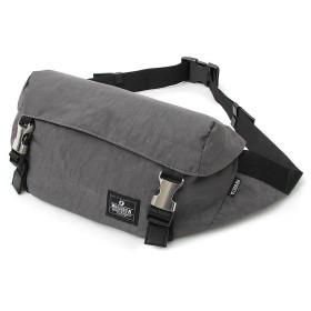 [トップイズム] ショルダーバッグ ウエストバッグ ウエストポーチ メンズ ボディバッグ ヒップバッグ カバン かばん 鞄 ナイロン 3-グレー F