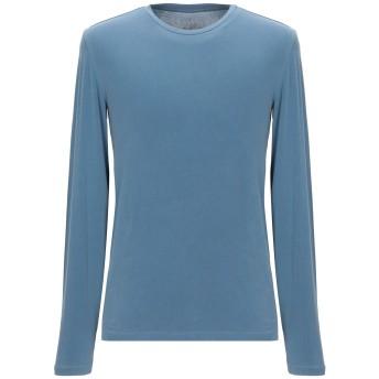 《セール開催中》MAJESTIC FILATURES メンズ T シャツ パステルブルー M コットン 94% / ポリウレタン 6%