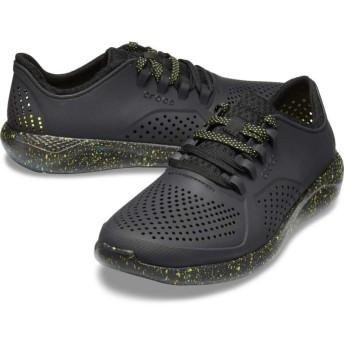 【クロックス公式】 ライトライド ハイパー ボールド ペイサー メン Men's LiteRide Hyper Bold Pacer メンズ、紳士、男性用 ブラック/黒 25cm,26cm,27cm,28cm,29cm shoe 靴 シューズ