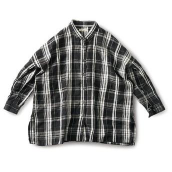 テーブルクロスで作ったマントシャツ and myera フェリシモ FELISSIMO【送料無料】