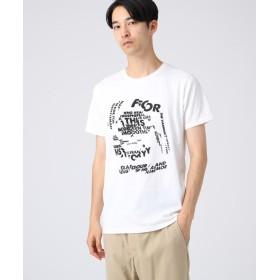 tk.TAKEO KIKUCHI(ティーケー タケオ キクチ) ◆コットン(綿)天竺グラフィックTシャツ