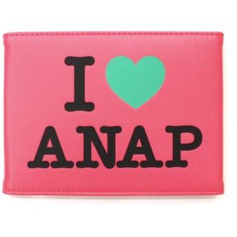 アナップ I LOVE『ANAP』ロゴミラー レディース ピンク F 【ANAP】