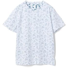 【70%OFF】 メンズビギ 総柄裏プリントTシャツ メンズ チャコールグレー L 【Men's Bigi】 【セール開催中】