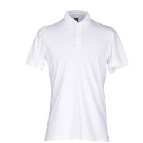 《期間限定セール開催中!》ELEVENTY メンズ ポロシャツ ホワイト M コットン 100%
