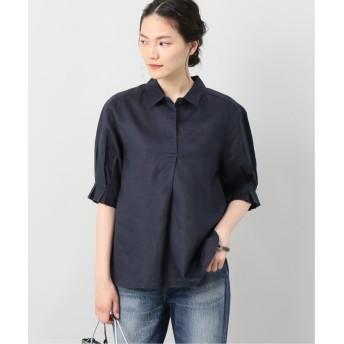 JOINT WORKS 袖タックラミースキッパーシャツ