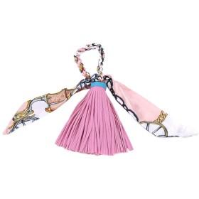 KLUMA バッグチャーム キーホルダー飾り レディース タッセル 上質 かわいい 高級感 ファッション プレゼント