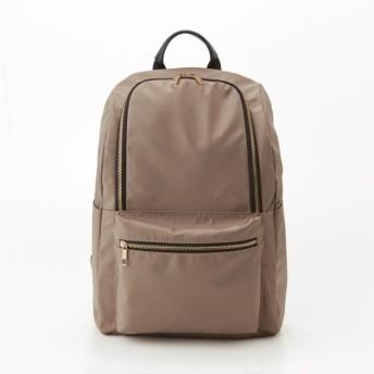 バッグ カバン 鞄 レディース リュック 9ポケットリュックサック カラー 「グレー」